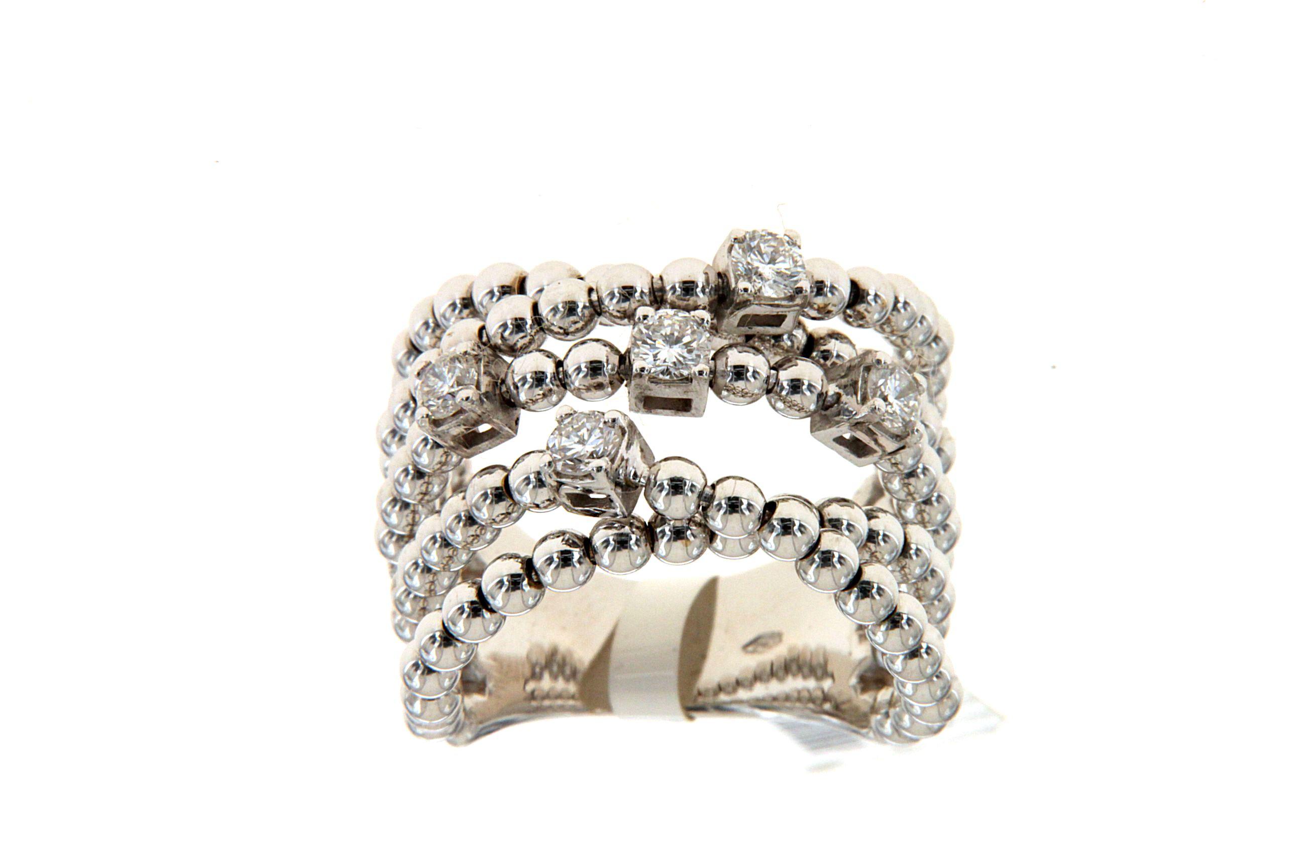 Molto Anelli donna in oro con diamanti e brillanti - - Pagina 6 di 8  EN94